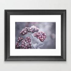 selfless, cold and composed Framed Art Print