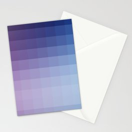 Lumen, Blue and Purple Glow Stationery Cards