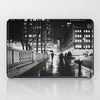 new york city iPad Cases featuring New York City Noir by Vivienne Gucwa