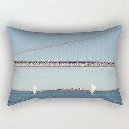 Lisbon bridge Rectangular Pillow