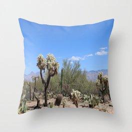 The Beauty Of The Desert Throw Pillow