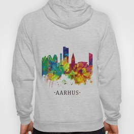 Aarhus Denmark Skyline Hoody