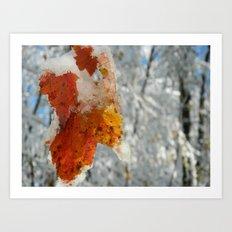 The Last of Autumn 2 Art Print