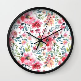 Garden Vibes Pattern Vol. 1 Wall Clock