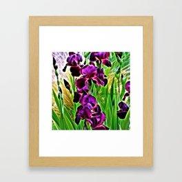 HELLO DARKNESS 2 Framed Art Print