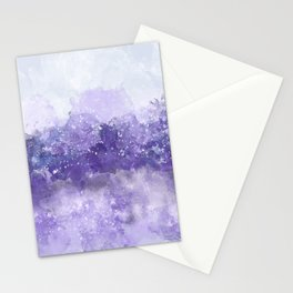 Choppy Purple Ocean Water Stationery Cards
