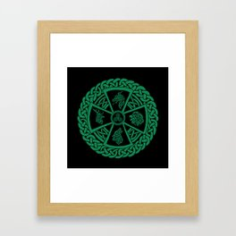 Celtic Nature 2 Framed Art Print