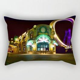 Vienna Prater at Night Rectangular Pillow