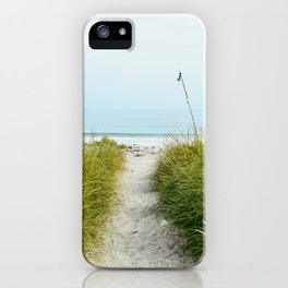 Beach Path to the Sea iPhone Case