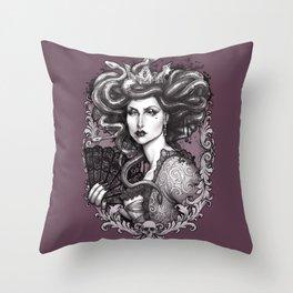 MEDUSA IMPERATRIX MUNDI Throw Pillow