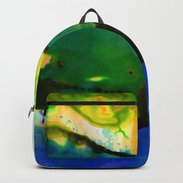 Abstract Bliss 4I by Kathy Morton Stanion Backpack