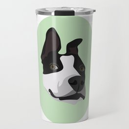 Silly Pitbull Travel Mug