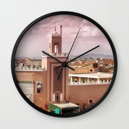 Fantastic Marrakech Wall Clock