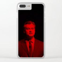 Christopher Nolan - Celebrity  (Photographic Art) Clear iPhone Case