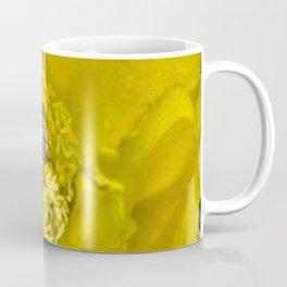 Rainy Day Cactus Flower Bee Coffee Mug