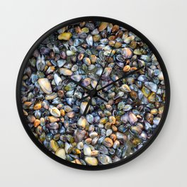 Sea Shells Low tide Wall Clock