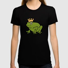 Frog Prince Pattern T-shirt