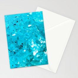 Blue crystal Stationery Cards
