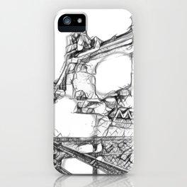 London sketch iPhone Case