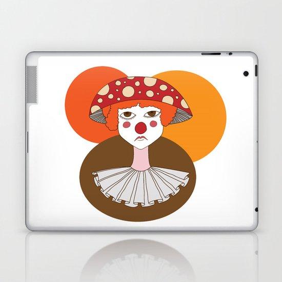 Sad clown Laptop & iPad Skin
