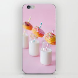 food, drink, pink #society6 #decor #buyart iPhone Skin