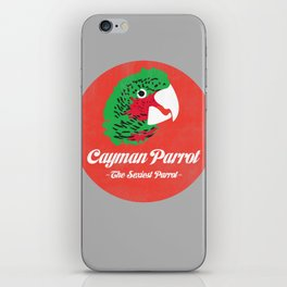 Cayman Parrot iPhone Skin
