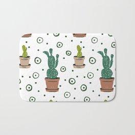 Prickly Pear Cactus Bath Mat