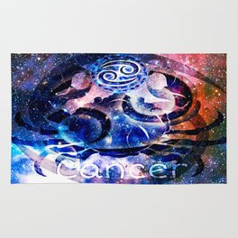 Astrology Cancer Sign Rug