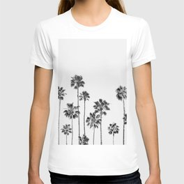 Black And White Palms 2 T-shirt