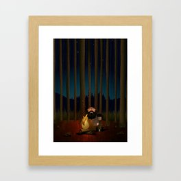 Where The Woods Finds Us Framed Art Print