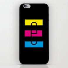E like E iPhone & iPod Skin