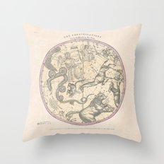 The Constellation Throw Pillow