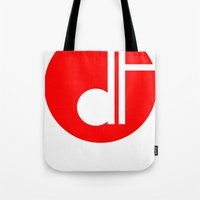 logo Tote Bags featuring logo by davefallonphotography