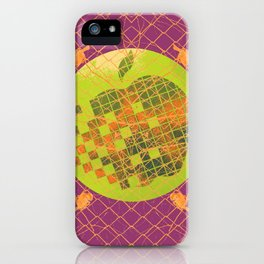 Birds and the Big Apple I iPhone Case