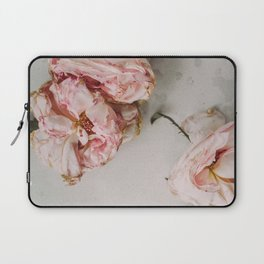 Dried Pink Flowers Laptop Sleeve