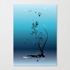 Fluid Inspiration Canvas Print