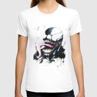 venom T-shirts featuring Venom  by Liam Shaw Illustration