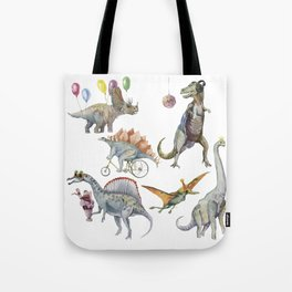 PARTY OF DINOSAURS Tote Bag