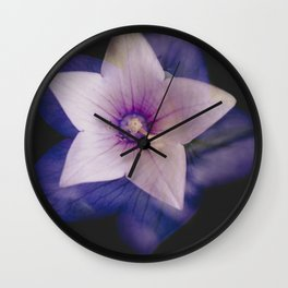 Two flowers in one Wall Clock