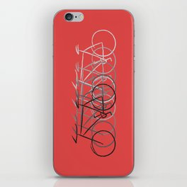Just bike iPhone Skin