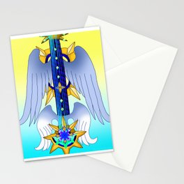 Fusion Keyblade Guitar #169 - Aubade & Oathkeeper Stationery Cards