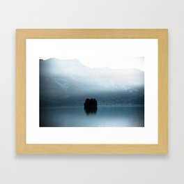 Lake Brienz, Switzerland  Framed Art Print