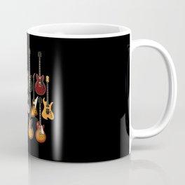 Too Many Guitars! Coffee Mug