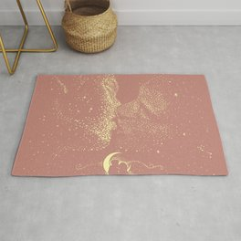 Starcrossed | Peach Lithograph Rug