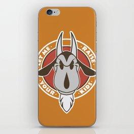 Goat head iPhone Skin