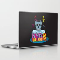 hiphop Laptop & iPad Skins featuring Party and Bullshit. by Dewi Gale