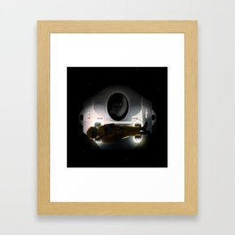 Open the pod bay doors HAL Framed Art Print