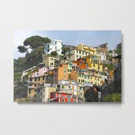 All About Italy. Piece 7 - Riomaggiore Spirit Metal Print