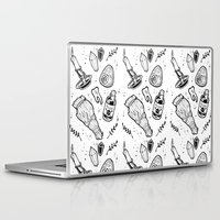 witchcraft Laptop & iPad Skins featuring WITCHCRAFT by Fokshe