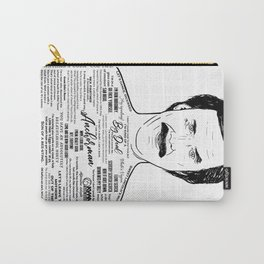 Anchorman's Ron Burgundy - 'Scotchy, Scotch, Scotch' Carry-All Pouch